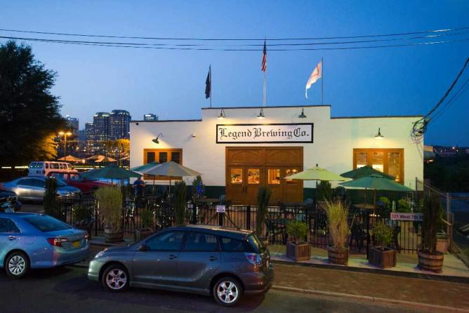 Legend Brewing Company's beer garden | Courtesy Legend Brewing Company