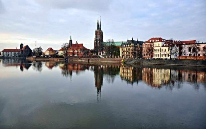Ostrów Tumski, Wrocław | © Daruu/WikiCommons