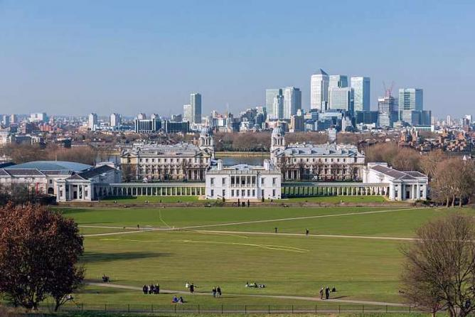 The London Skyline From Greenwich Park | © Morio/WikiCommons
