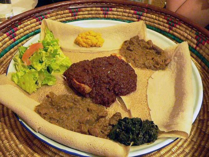 Ethiopian Food | © Rama/Wikimedia Commons