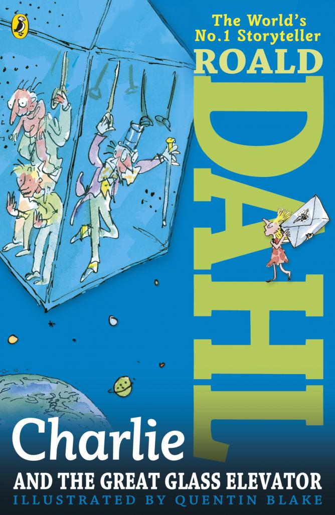 Charlie and the Great Glass Elevator, Roald Dahl | © Puffin