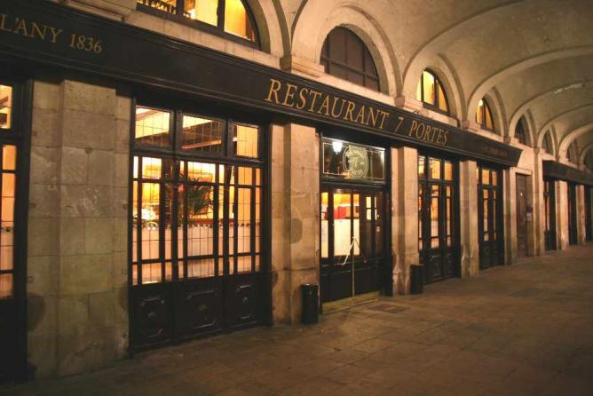 The 10 best restaurants in the gothic quarter barcelona for 7 portes barcelona menu