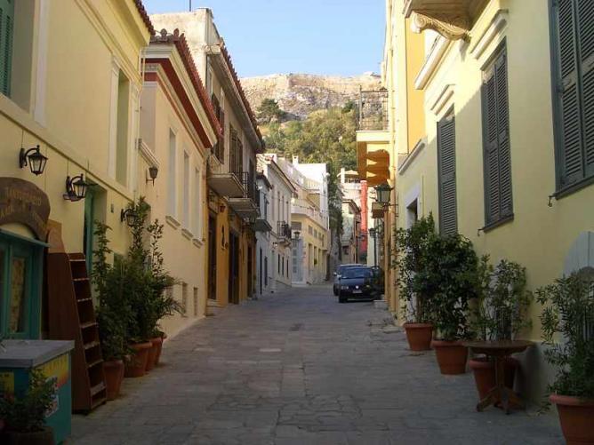 Typical Plaka Street   © JFKennedy/WikiCommons