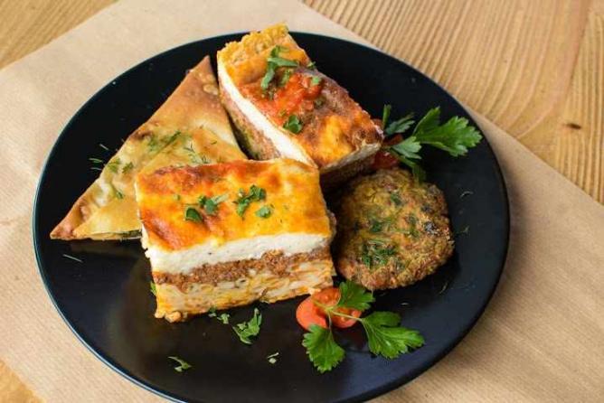 Pastitsio dish   Courtesy of Ydria Restaurant