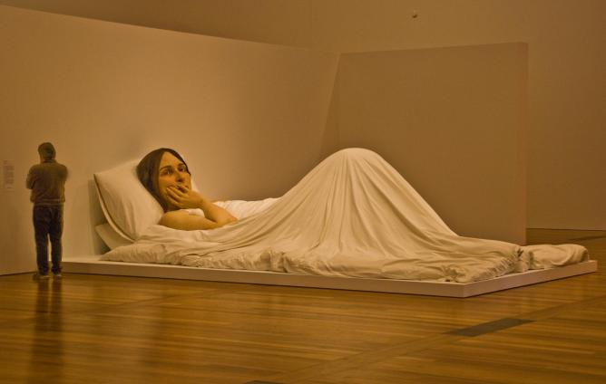 'In Bed' by Ron Meuck | © Phillip Capper/Flickr