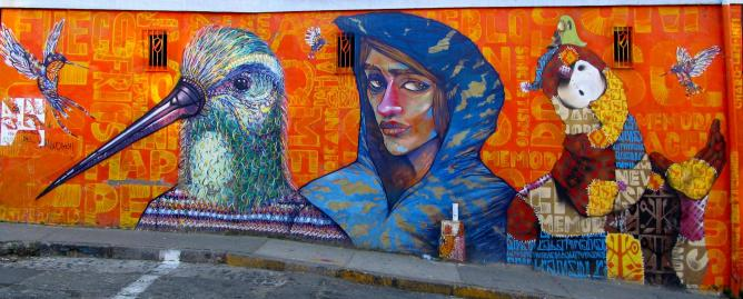 The best street art in valpara so chile - Sculptures metalliques murales ...