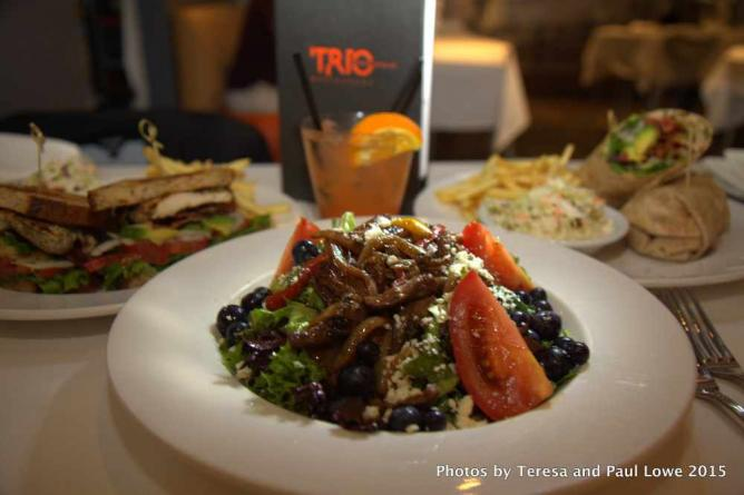 Trio offers guest tasty luncheon choices