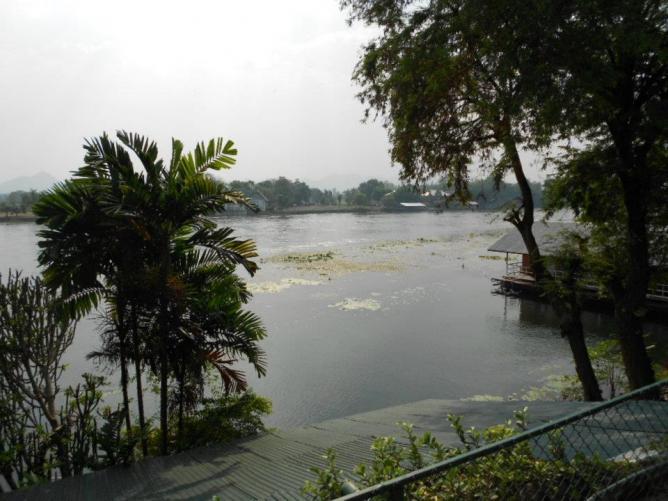 The River Kwai from Kanchanaburi