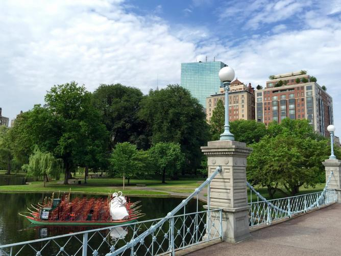 Boston Public Garden | © Kristin/Flickr