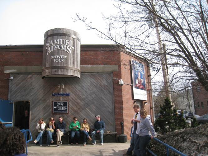 Sam Adams Brewery Tour | © mroach/Flickr