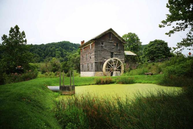 White's Mill in Abingdon