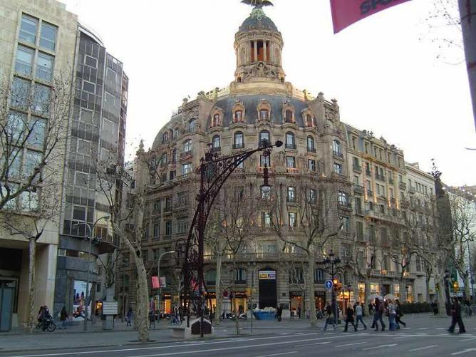 Facade of Unión and of the Fénix building   © Kitten86/WikiCommons