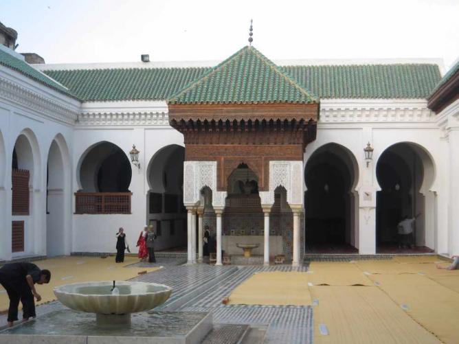 Al-Qarawiyyin | © Khonsali/WikiCommons
