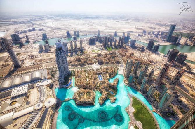 An aerial view of Dubai |© Frank Kehren/ Flickr
