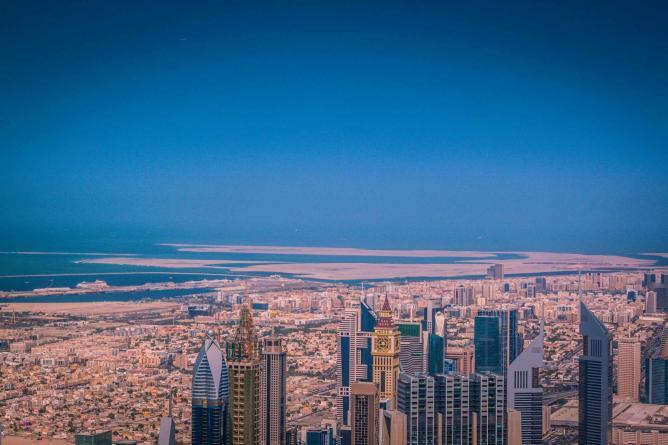 View from the Burj Khalifa|© Bertrand Duperrin/ Flickr