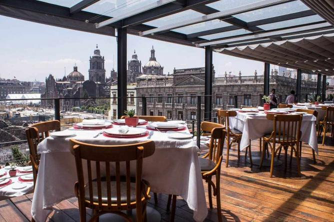 The best brunch places in mexico city 39 s centro hist rico for Cafe el jardin centro historico