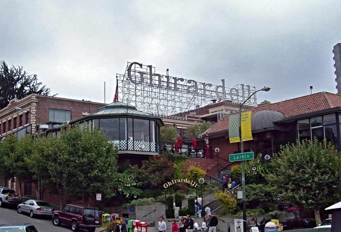 Ghirardelli Square | ©Infratec/Wikicommons