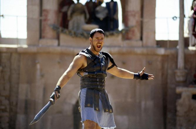 Gladiator © Dreamworks, Universal Pictures and Scott Free Productions