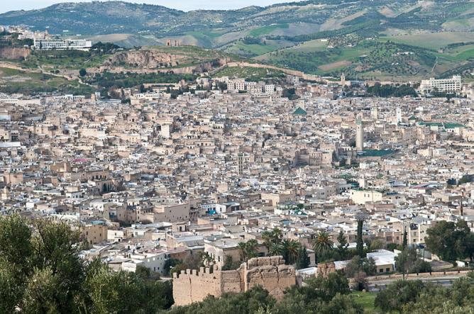 View of Fes | © Michal Osmenda/WikiCommons