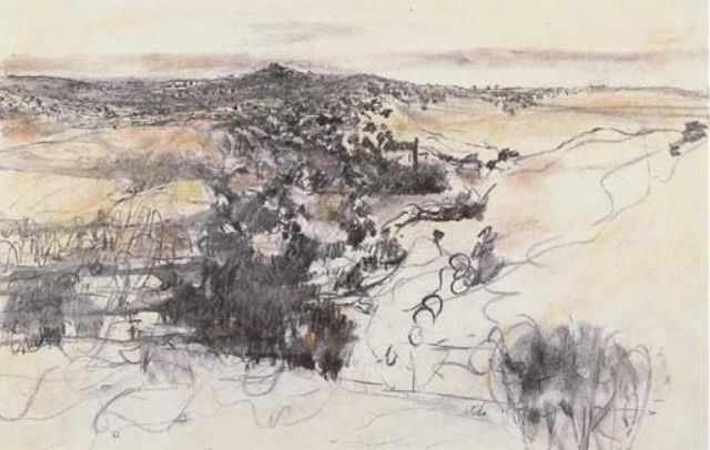 Jerusalem Hills by Anna Ticho