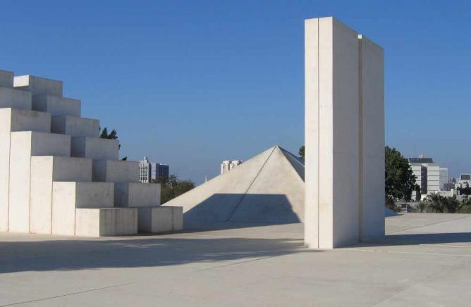 """White Square"", Dani Karavan 1989"