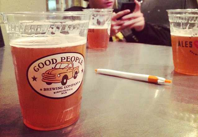 Good People Brewing Co. Beer | ©Will Gurley/Flickr