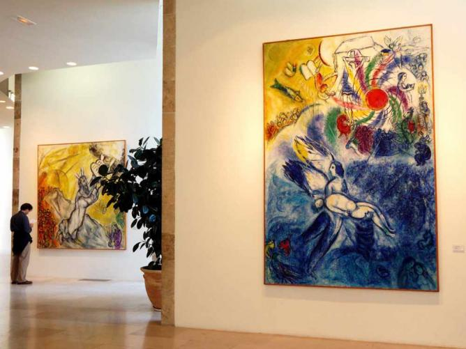 The 5 Best Places to See Marc Chagall's Art Chagall Museum