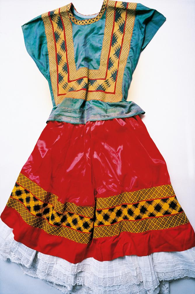 Frida Kahlo's dress