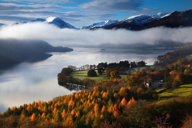 Misty Morning, Cumbria by Malcolm Blenkey (Your View, Landscape Photographer of the Year 2014)