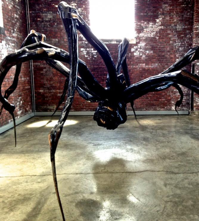 Crouching Spider by Louise Bourgeois | Image Courtesy of Helena Bajaj-Larsen