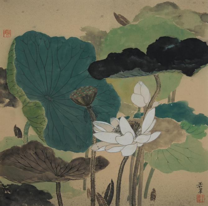 Mansheng Wang, White Lotus I