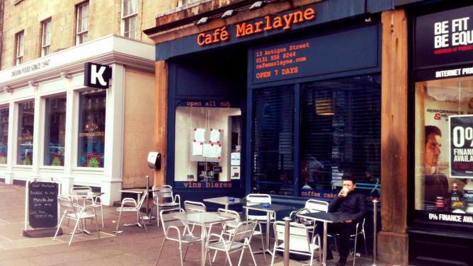 Café Marlayne Edinburgh   © STV Photos/Flickr