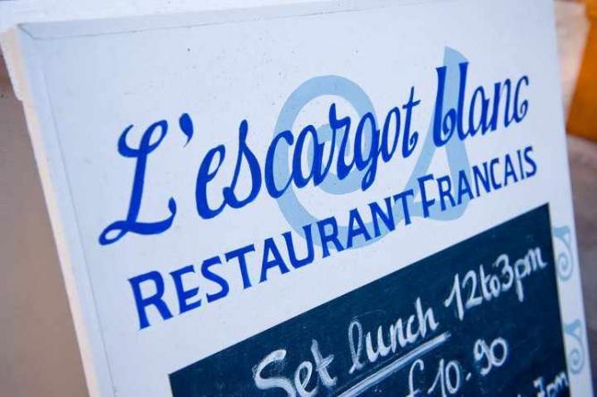 L'Escargot Blanc   © STV Photos/Flickr
