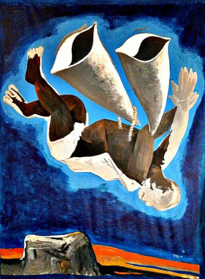 La chute d'lclare by Yao Metsoko | Image courtesy of Yao Metsoko and Sabine Le Nechet