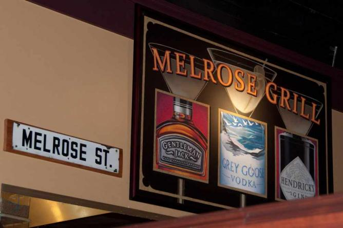 Signs at Melrose Grill   © Warren In the Weeds/Flickr
