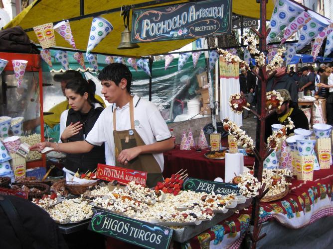 Feria de Mataderos, Pochoclo Stand   © Meghan Hess