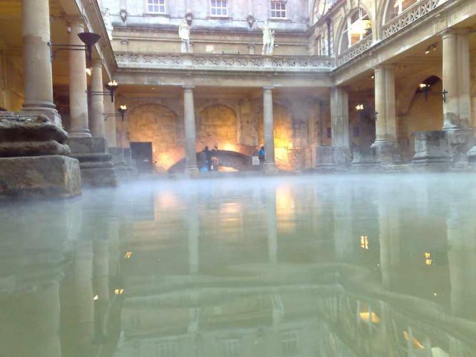 The Roman Baths   © Mark Hillary/Flickr