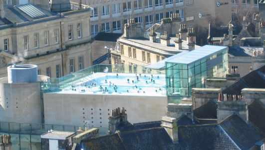Thermae Bath Spa rooftop   © NH53/FlickR
