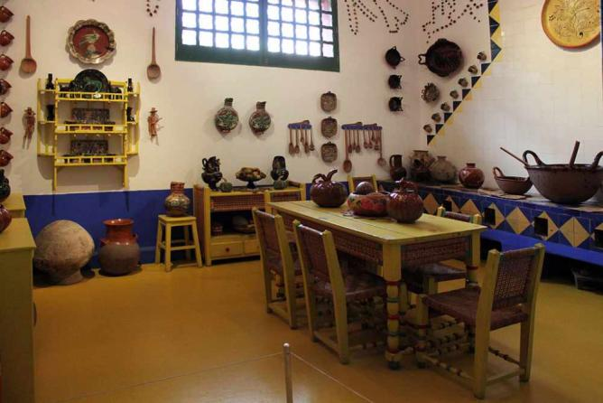 Frida Kahlo's kitchen | © Anagoria/WikiCommons