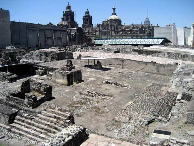 Templo Mayor | © BekaHari/WikiCommons
