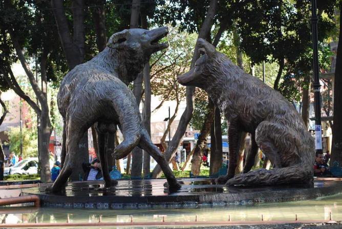 Coyotes Fountain | © AlejandroLinaresGarcia/WikiCommons