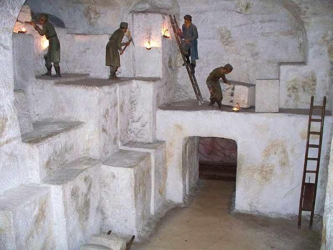 Underground mines in the Deutsches Museum