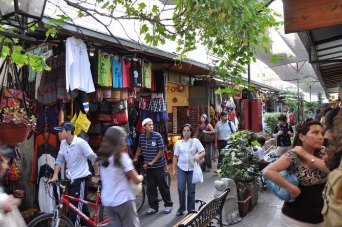 Artisan Market of Santa Lucía | © José Lascar/Flickr