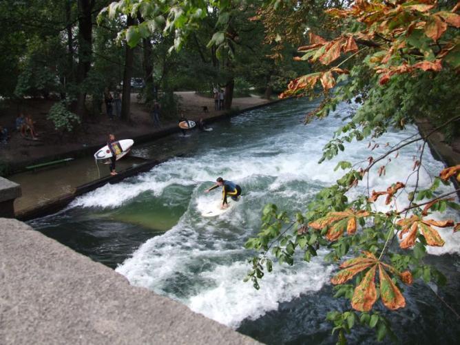 Surfing the Munich way