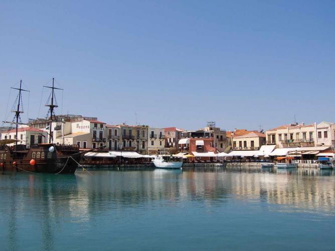 Old harbor of Rethymno   © ViseMoD/WikiCommons