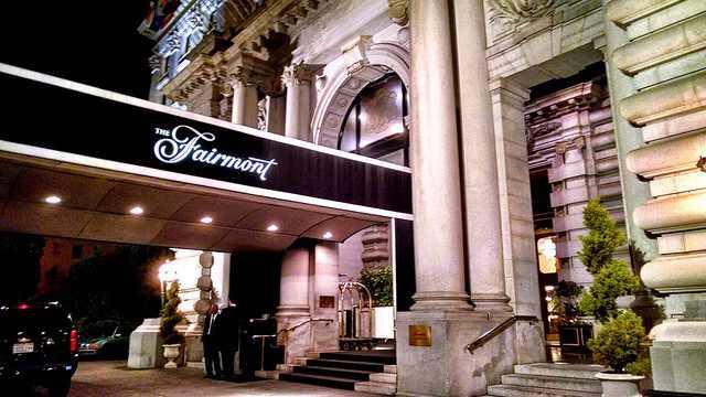 The Fairmont San Francisco Hotel   © Travis Wise/ Flickr