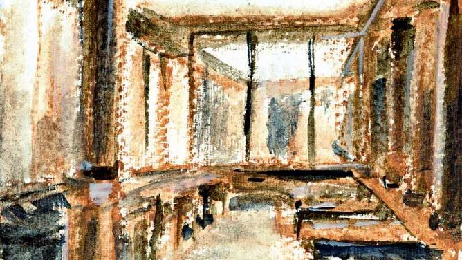 An artistic impression of Café Comercial   © Frédéric Glorieux/Flickr