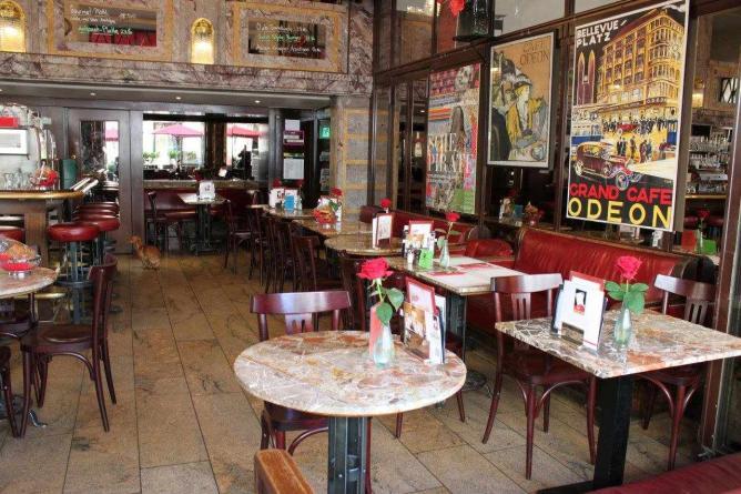 The charming interior of Café Odeon I © Courtesy of Café Odeon