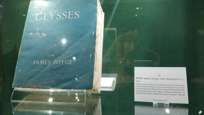 First Edition Signed Ulysses