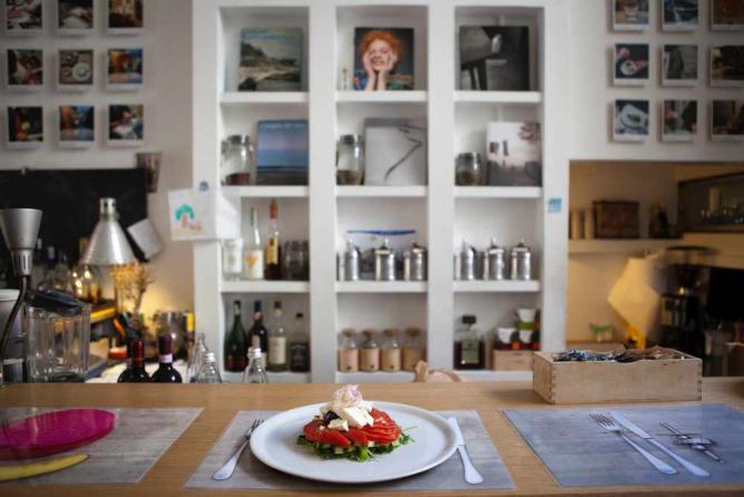 Brac Interior and Dish   Courtesy Brac